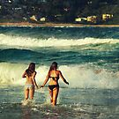 summer at Avoca beach by ozzzywoman