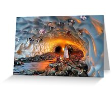 Tunnel of Captain Swan Love Greeting Card