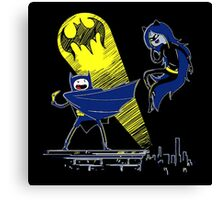 Gotham Knight Finn and Lumpy Parody Canvas Print