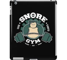 Snore Gym iPad Case/Skin