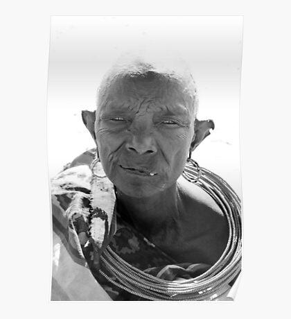 Samburu Tribe woman Poster