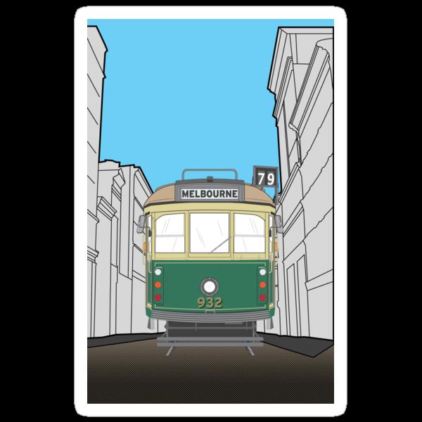 Melbourne Heritage Tram by Matt Simner
