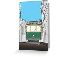Melbourne Heritage Tram Greeting Card