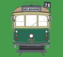 Melbourne Heritage Tram Baby Tee