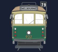 Melbourne Heritage Tram One Piece - Long Sleeve