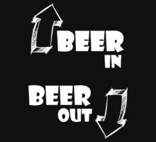 Beer in, Beer out. White by brzt