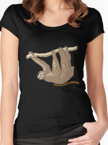 Just hangin' around Women's Fitted Scoop T-Shirt