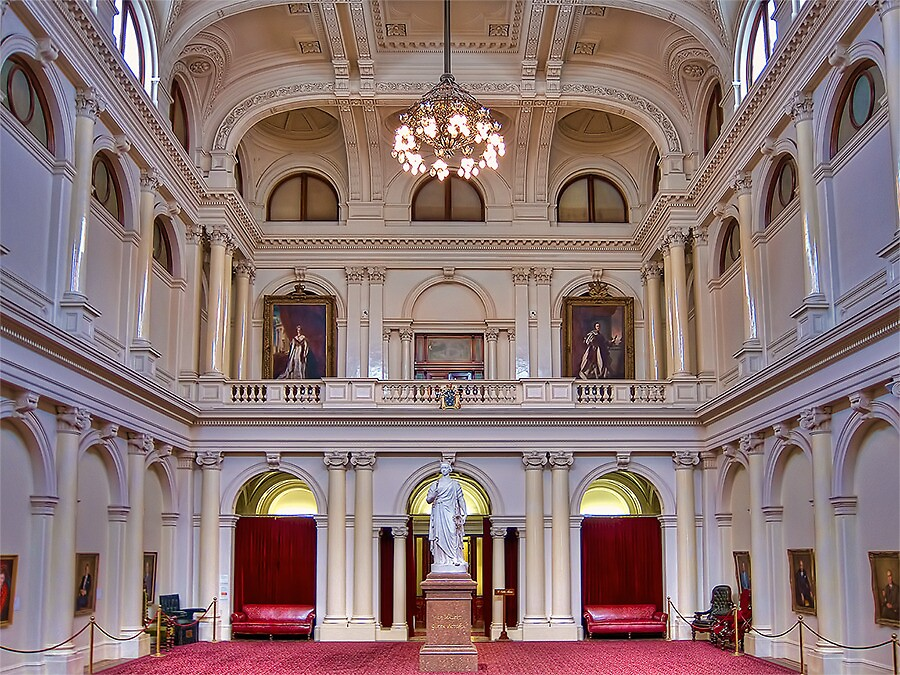 Queens Hall by Lynden