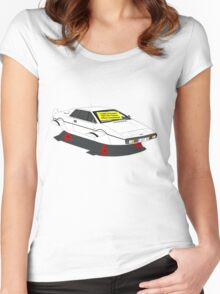 1976 Lotus Esprit - Slight Water Damage Women's Fitted Scoop T-Shirt