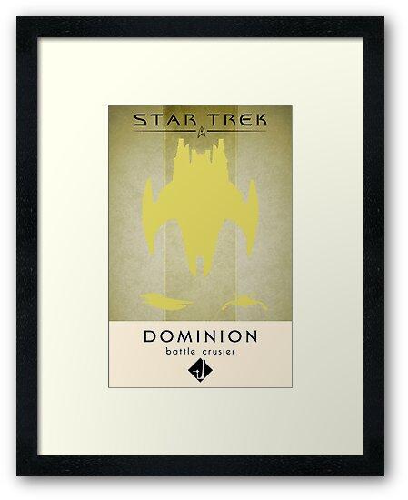 Dominion Battle Cruiser by liquidsouldes