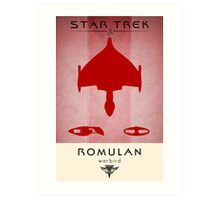 Romulan Grand Executioner Art Print
