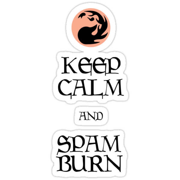 Spam Burn by sandmgaming