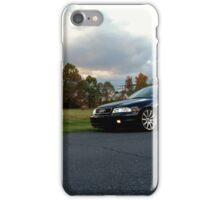 Audi S4 (B5) and its owner iPhone Case/Skin
