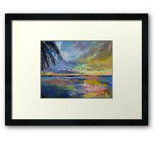 Islamorada Sunset Framed Print