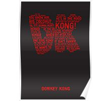 Donkey Kong Poster Poster