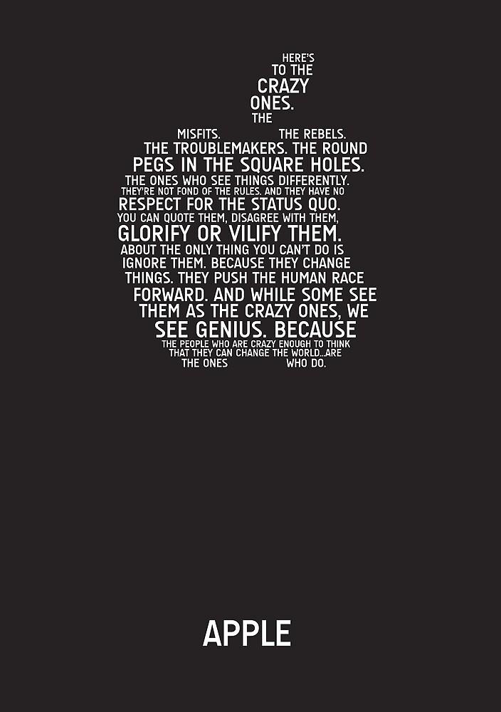 Apple Typography by TitanVex
