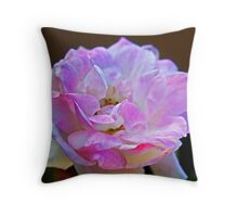 Pink Touch Throw Pillow