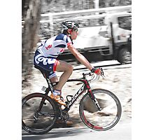 Pro Cycling Photographic Print