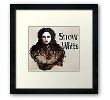 Snow White OUAT Framed Print