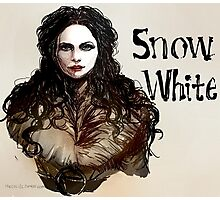Snow White OUAT Photographic Print