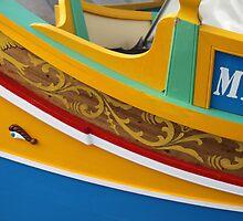 Fishing Boat Can Sea Through it's Little Eye by Jane McDougall