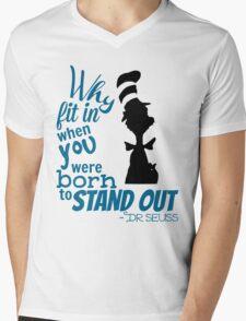 Dr Seuss Quote Mens V-Neck T-Shirt