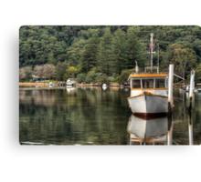Patonga Creek Trawler Canvas Print