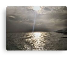 Sun Beam Canvas Print