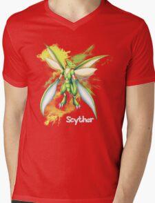 Scyther Shirt Mens V-Neck T-Shirt