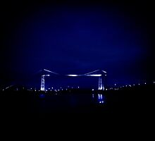Transporter Bridge Newport South Wales by mbimages