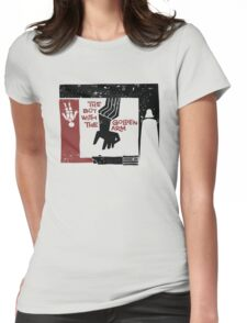 The Boy with the Golden Arm. Womens Fitted T-Shirt