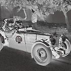 MG TC 1946 by Geoffrey Higges