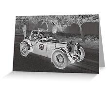 MG TC 1946 Greeting Card