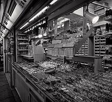 Pick a Part - Akihabara Electric Town - Japan by Norman Repacholi