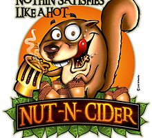 Nothin' Satisfies Like A Hot Nut-N-Cider  by LinkArtworks