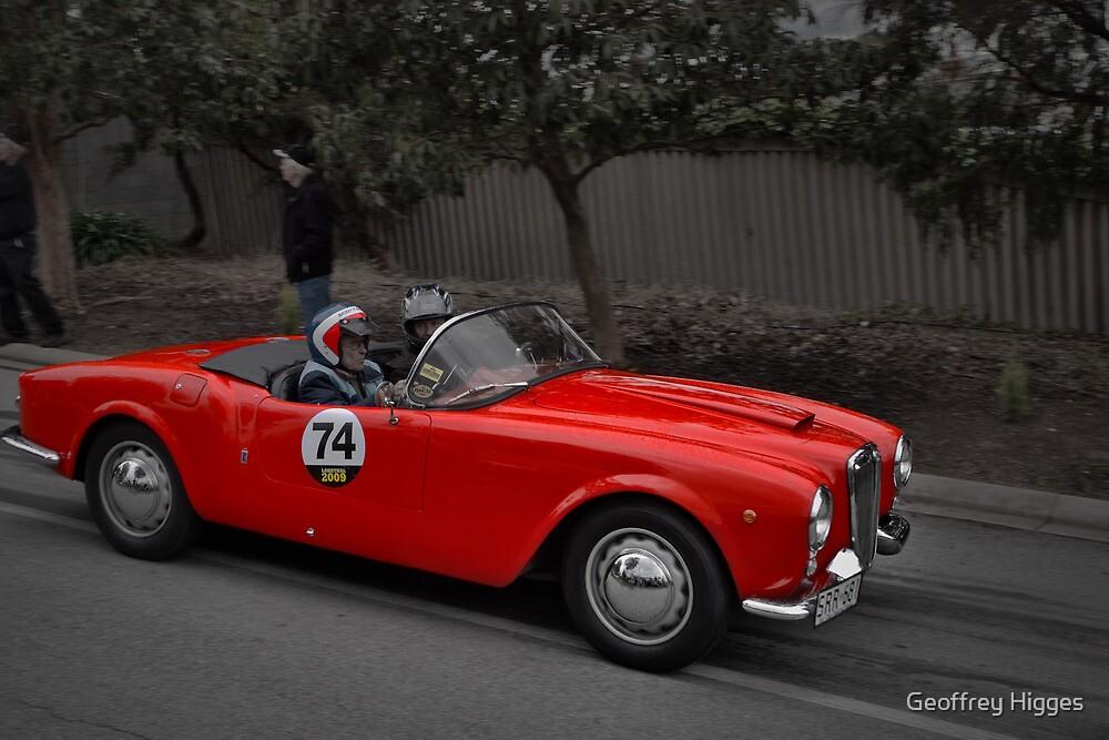 Lancia Aurelia Spider 1955 by Geoffrey Higges