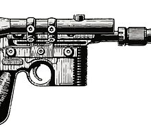 Han Solo's Blaster  by gtcdesign