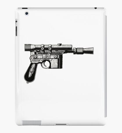 Han Solo's Blaster Stencil iPad Case/Skin