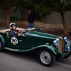 MG TD 1951 by Geoffrey Higges