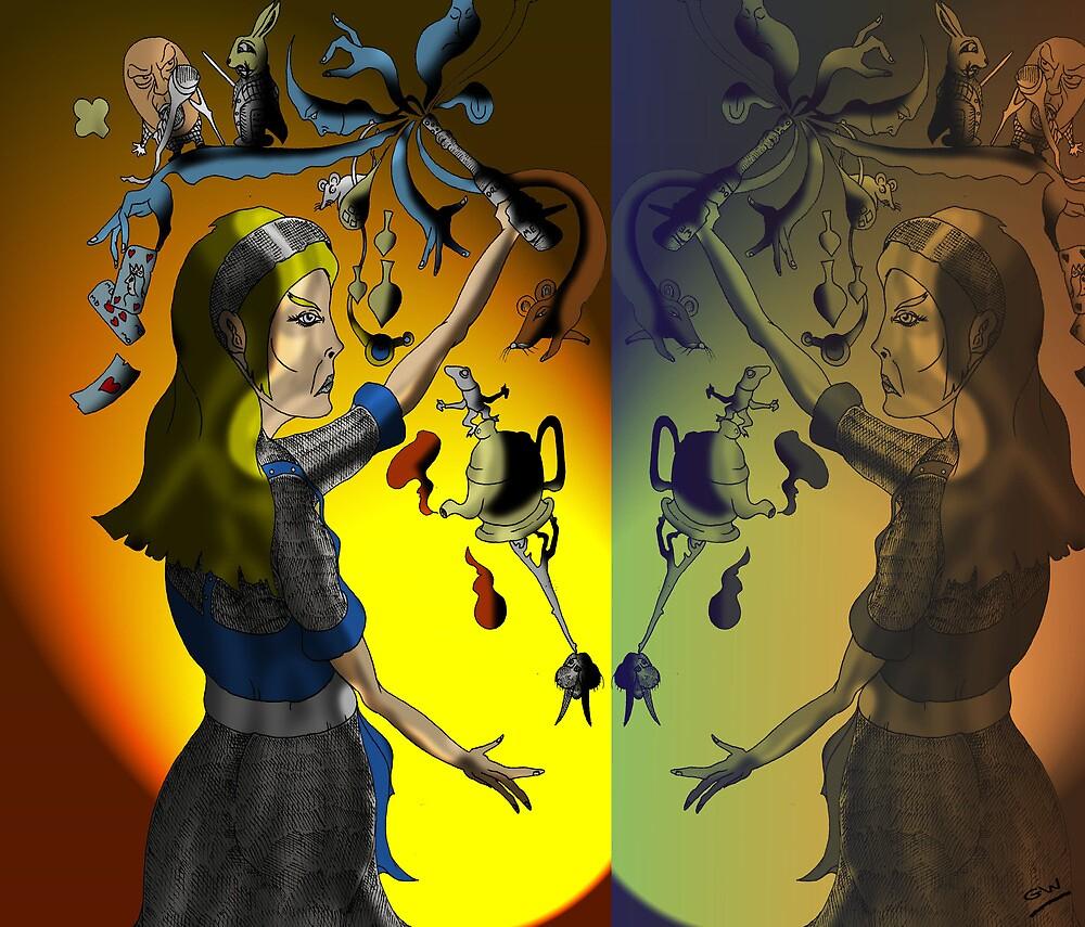 Alice in Wonderland Part 2 by Grant Wilson