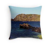 South Devon Prawle Point   ( 2 ) Throw Pillow