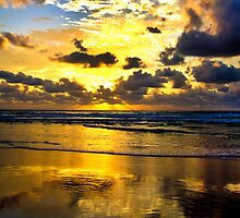 Golden Rays by Steve Bass