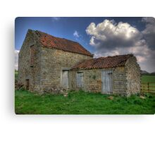 Old Barn - Lastingham Canvas Print