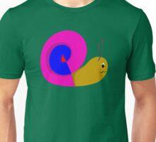 Coloured Snail Unisex T-Shirt