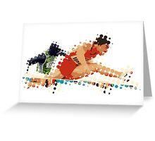 2012 Olympics Hurdles Greeting Card