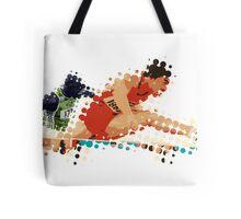 2012 Olympics Hurdles Tote Bag
