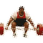 2012 Olympics Weightlifter by theartdirectors