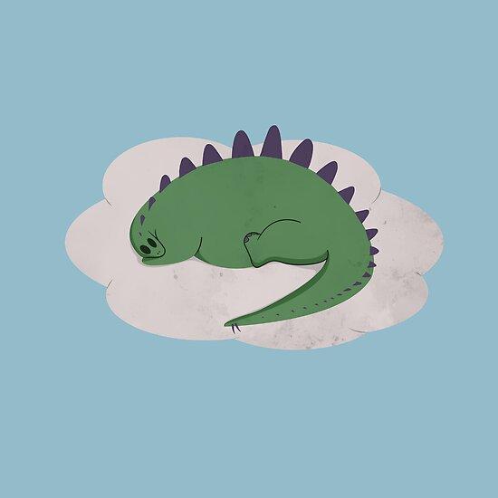 Asleep on a Cloud by perdita00