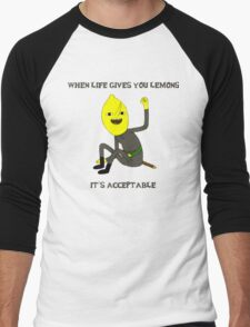 Lemon Life Men's Baseball ¾ T-Shirt