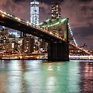 Brooklyn Bridge & Freedom Tower by depsn1